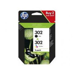 TINTA HP PACK 302 NEGRO COLOR